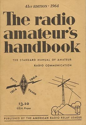 The Radio Amateur's Handbook 64th Edition 1964