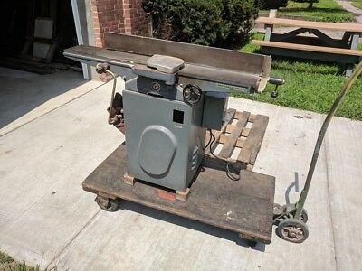 """Rockwell 37-220  Jointer 6"""" Single Phase"""