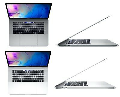 Apple MacBook Pro 15 Inch 512GB 2.6GHz i7 Touch Bar - Space Gray or Silver 2018