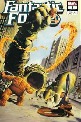 Fantastic Four 1 Alex Ross Exclusive 1961 Color Homage Variant Nm