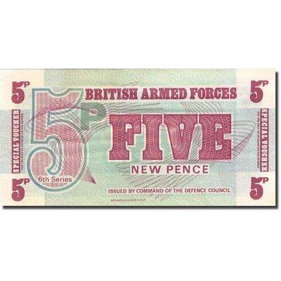 [#271948] Banknote, Great Britain, 5 New Pence, 1972, Undated (1972), KM:M44a