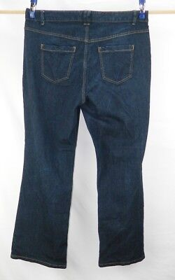Women's Lane Bryant Right Fit Red Tag Boot Cut Stretch Denim Jeans Size 20 Avg