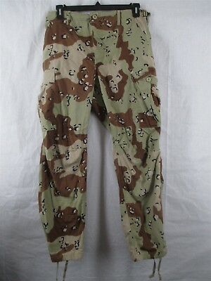 Pants/Trousers Medium Regular 6 Color Chocolate Chip Desert Camo USGI Army