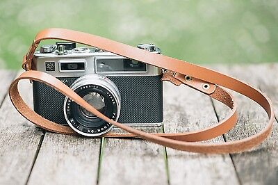 Leather Camera Strap | Vintage Tan