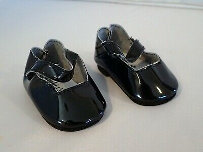 Black Patent Mary Jane Dress  Shoes Fits 18 inch American Girl Dolls