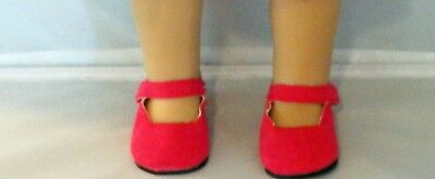Plum Patent Mary Jane Shoes Fits 18 inch American Girl Dolls