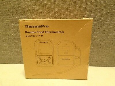 ThermoPro Wireless Remote Meat Thermometer with Timer for BBQ/Grill Smoker Oven