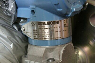 Rosemount 3051L Level Transmitter 3051L2AA0CC31ABS1E7F1Q4 - New Surplus Open