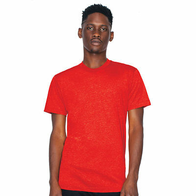Bb401 American Apparel Made In The Usa Poly-Cotton Crew Neck Tee Xs-2X New!