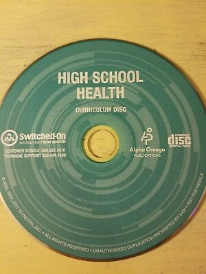 Alpha Omega Publications Switched on Schoolhouse High school Health