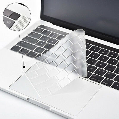 """Silicone Laptop Keyboard Cover Skin for Macbook Pro 13/15"""" with Touch Bar Newly"""
