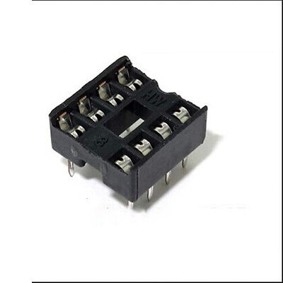 20PCS 8 Pin DIP8 Integrated Circuit IC Sockets Adaptor Solder Type Best  Fine_UK