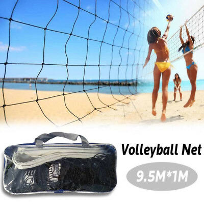 Volleyball Volley Ball Net 9.5*1m Portable For Holiday Beach Outdoor Sports Game
