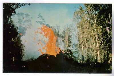 Hawaiian Volcano Spatter Cone,pahoa-Kalapana Hwy,big Island Of Hawaii Postcard