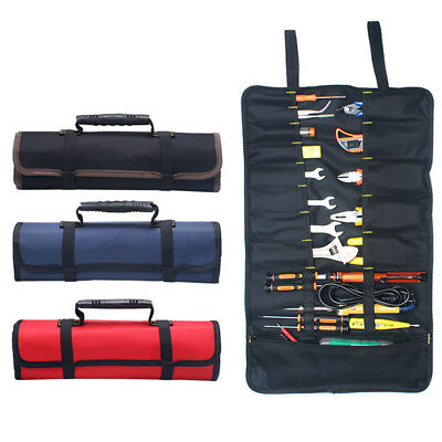 Multfunction Tool Bag Practical Carrying Handles Oxford Canvas Instrument Case