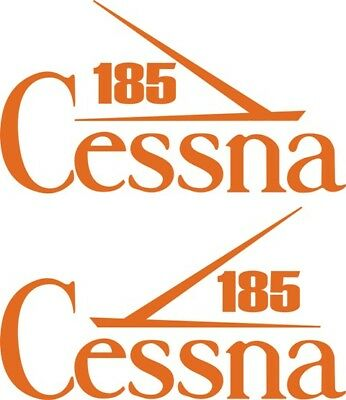 Cessna 185 Aircraft Tail Decal,Stickers!