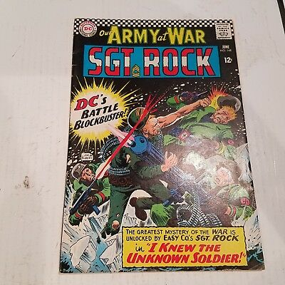 Our Army at War 168 Fine HUGE DC SILVER AGE COLLECTION No Reserve