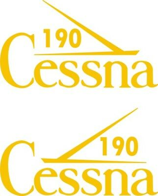 Cessna 190 Aircraft Tail Decal,Stickers!