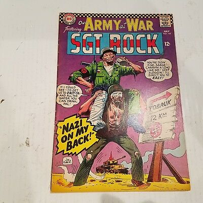 Our Army at War 169 Fine HUGE DC SILVER AGE COLLECTION No Reserve