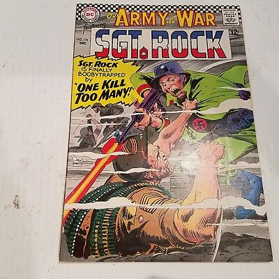 Our Army at War 174 VF HUGE DC SILVER AGE COLLECTION No Reserve