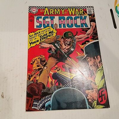Our Army at War 176 VF- HUGE DC SILVER AGE COLLECTION No Reserve