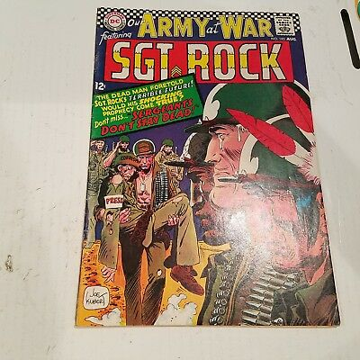 Our Army at War 183 Fine HUGE DC SILVER AGE COLLECTION No Reserve