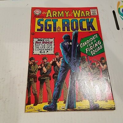 Our Army at War 184 Fine+ HUGE DC SILVER AGE COLLECTION No Reserve
