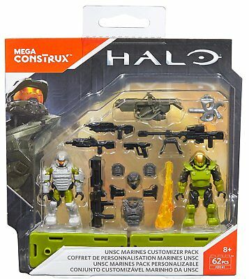 Halo Mega Construx UNSC Marines Customizer Pack FDY41