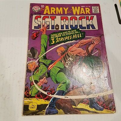 Our Army at War 186 VG HUGE DC SILVER AGE COLLECTION No Reserve