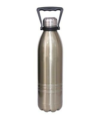 bcde3570fb0 Duro Stainless Steel HOT and COLD Vacuum Insulated Water Bottle 1800 ML