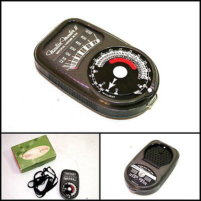 1950's WESTON MASTER II, MODEL 735 LIGHT METER (Made in USA)