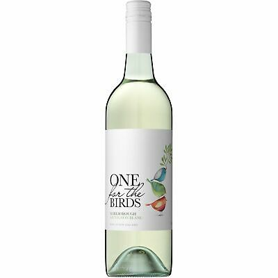RRP $270! One For The Birds NZ Marlb Sauvignon Blanc White Wine 2017 (12x750ml)