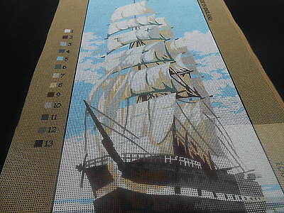 """Anchor """"Clipper""""  Printed Tapestry Canvas only"""