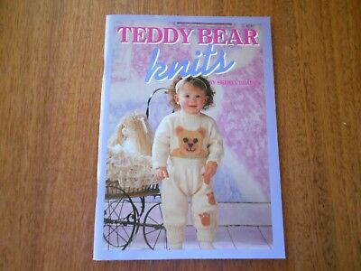 Teddy Bear Knits - Children 6 Months To 12 Years - Good Condition -