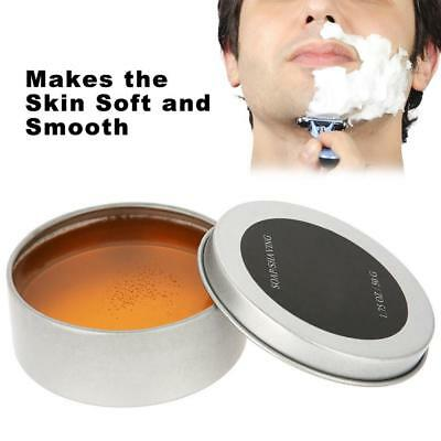 Men Wet Shaving Soap Rich Lather Barber Shaving Cream Face Beard Cleansing Tool