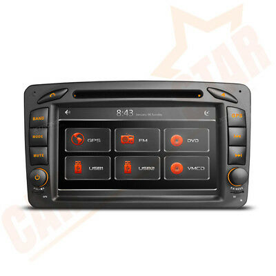 Car Stereo DVD Player GPS Sat Nav Radio for Mercedes-Benz C/CLK Class W203 W209