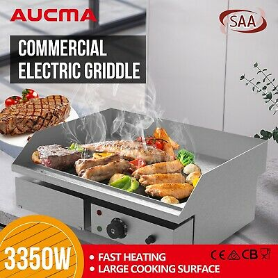 Electric Countertop Griddle 3350W Hot Plate Commercial Grill BBQ Steak Cooker