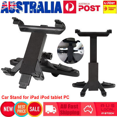 Flexible Rotating Car Seat Back Headrest Mount Holder For iPhone iPad Mini iPod