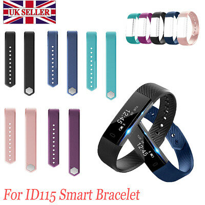 Replacement Strap Spare Band For Veryfit ID115 Fitness Tracker Sleep Monitor UK