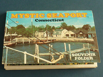 Mystic Seaport Souvenir Photo Booklet from 1979 LL167