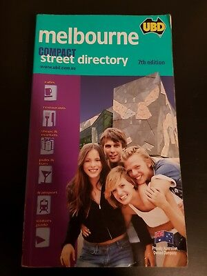 UBD Melbourne Compact Street directory 7th Edition