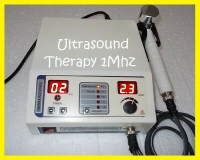 New Ultrasound Therapeutic 1MHz Electric Original Machine Pain Relief Therapy @k