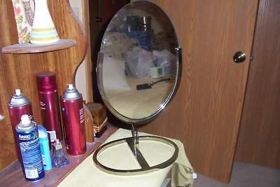 Vintage Jewelry Store Mirror Large Counter Top
