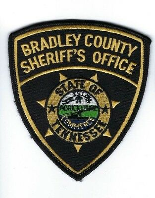 Bradley County TN Tennessee Sheriff's Office patch - NEW!