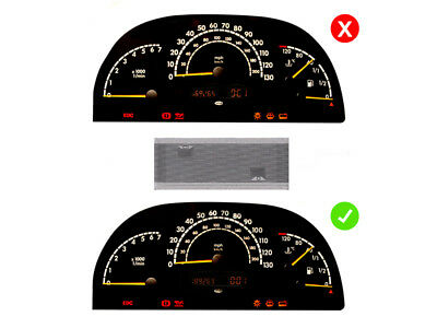 LETRONIX Mercedes Vito W638 Tacho Multifunktions Display Pixel Reparatur Folie