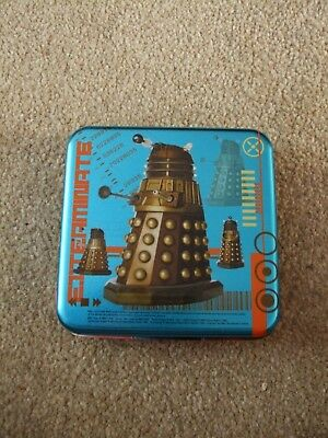 Ultra Rare and Hard to Find Doctor Who Travel Game Compendium Tin