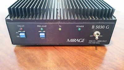 MIRAGE B-5030-G  R.F. AMPLIFIER FOR 2 METERS 144 TO 148 MHz 300 + WATTS