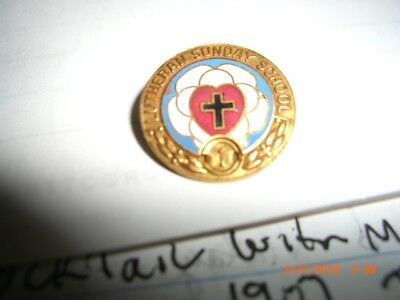 Vintage Collectible Pin: LUTHERAN SUNDAY SCHOOL High Quality-Concord