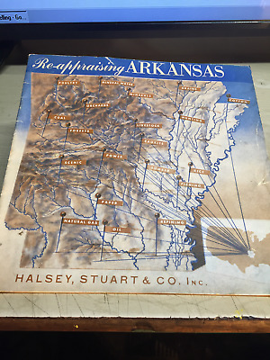 June,25 1943 Re - Appraising Arkansas 26 Pages Lion Oil Refinery & Much More