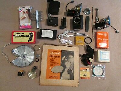 Vintage Camera Accessories Adapter Misc Parts Lot Free Shipping